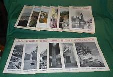 12  riviste Le Lingue del Mondo Valmartina Anno XXII 1957 annata completa E3