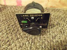 Bird 43 Thruline WattMeter Element Antenna Position Coax Switch 74-6