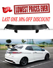 For Honda 07-11 Civic FN2 TypR Voltex GT Spoiler Trunk Wing Kits Carbon Fiber
