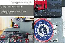 ✿ TARRINGTON HOUSE BAUMWOLLSATIN  2-TEILIIG • 135 X 200 • SATIN BETTWÄSCHE SET ✿