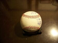 Tampa Bay Rays 2007 Team Autographed/Signed MLB 14 autographs, Gomes, Shields ++