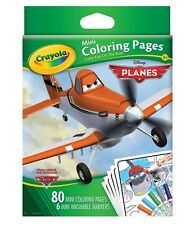 Crayola Mini Coloring Pages - Planes
