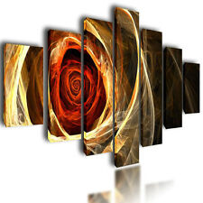 """HUGE EXTRA LARGE CANVAS PICTURES ABSTRACT WALL ART SPLIT MULTI PANEL IMAGE 80"""""""