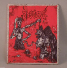 ABSCESS Thirst For Blood, Hunger For Flesh (Printed Small Patch) (NEW)