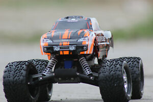 Traxxas TRX 36054 -4 orange Stampede ARTR Brushed RC Monster Truck 1:10 2WD  NEU