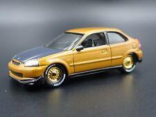 1996-2000 HONDA Civic Hatchback Jdm 1/64 Escala Coleccionable Modelo Fundido De