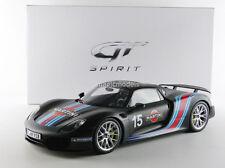 GT Spirit Porsche 918 Spyder Martini Weissach Package Black 1/12 New! LE of 500