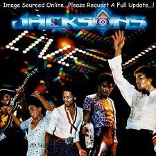 JACKSONS Live (1981 US 14 Track Gold Foil Stamped Gatefold Cover Double Promo LP