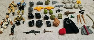 1986 - 1990 GI Joe Lot - Weapons, Accessories, Figures, Parts