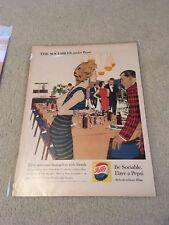 Vintage 1959 Pepsi Ad