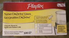 PLAYTEX NURSER DROP-INS LINERS ~ 100 CT New & Sealed Reduce Colic