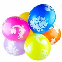 "10Pcs 12"" Dinosaurs Latex Printed Balloons Kids Party Birthday Decoration"