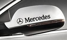 Mercedes + Stern Türgriff Spiegel Felgen Aufkleber   4 er Set ---Farbwahl---