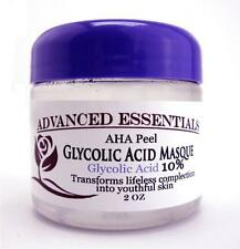 GLYCOLIC ACID MASK AHA PEEL 10% WRINKLE REDUCER RENEWAL RESURFACE ANTI-AGING 2oz