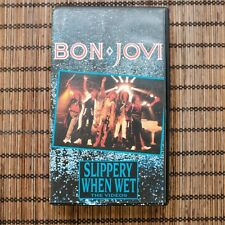 BON JOVI - SLIPPERY WHEN WET - VHS