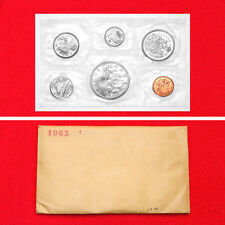 1965 6 COIN CANADA SILVER PROOF-LIKE COMMEMORATIVE MINT SET (4 SILVER COINS)