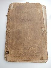 VERY OLD MILITARY PAPERS FRANCE    POOR STATE  MUCH HANDLING 1911 ERA  WW1