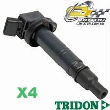 TRIDON IGNITION COIL x4 FOR Toyota Hi-Lux TGN16R 3/05-6/10, 4, 2.7L 2TR-FE