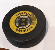 BOSTON BRUINS NHL HOCKEY PUCK OFFICIAL Made in Czechoslovakia