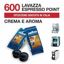 600 Capsule Cialde Caffè Lavazza Crema e Aroma Espresso Point Originali Fresche