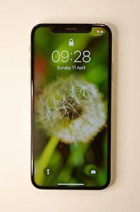 Apple iPhone XS (256Go) - Argent Désimlocké - Double SIM