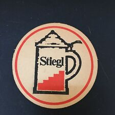 STIEGL BIER COASTER~ IMPORTED BREWING COMPANY
