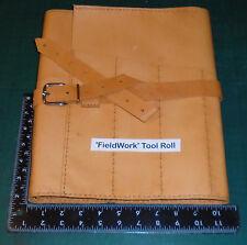 Palaeontologists / Archaeologists / Geologists 100% Handmade Fieldwork Toolroll.