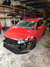 2012 VW Polo 6R Breaking Spares Salvage Red 1.4 Petrol