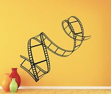 Film Strip Wall Decal Cinema Tape Home Theater Vinyl Sticker Decor Mural 259xxx