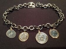 New - Collar Plata & Oro Monedas Romanas Necklace of Silver & Gold Roman Coins