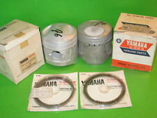 Yamaha Xs1 Xs2 Tx650 Piston And Ring Set Std Oem