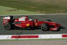 Giancarlo Fisichella Hand Signed Scuderia Ferrari Photo 12x8 4.