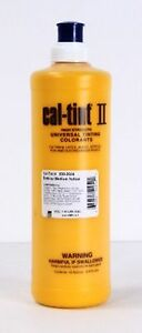 CAL-TINT II EXTERIOR MEDIUM YELLOW Universal Tinting Colorant