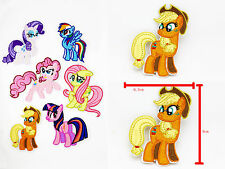 My Little Pony Apple Jack Iron on Patches Embroidered Badge Applique patch 1 pcs