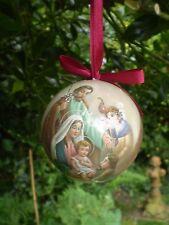 Dutch Navidad Natividad María, Jesús, José Colgante Adorno Decoración.