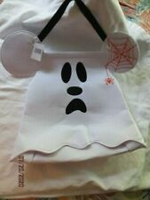 Nwt Disney Parks Halloween Mickey Mouse Ghost Trick or Treat Bag Last One