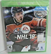 NHL 18 Xbox One Game BRAND NEW FACTORY SEALED Hockey Video Sports Microsoft