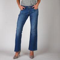 Levi's Levis 529 Curvy Bootcut Beach Tide Damen Mittel blau Jeans 27/30