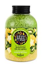 Tutti Frutti Badesalz (€19,92/kg) Kiwi & Sternfrucht Duftsalz für die Wanne 600g