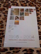 1995-2004, restauration des objets mobilers dans la Manche