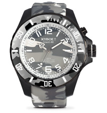 KYBOE! URBAN CAMO Chronograph Silicone Strap Watch 48mm Fashion Designer Men's