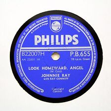 """JOHNNIE RAY """"You Don't Owe Me A Thing"""" (EE+) PHILIPS PB-655 [78 RPM]"""