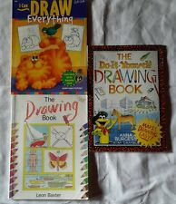 Lot 3 The Do It Yourself Step by Step I Can Draw Everything Art How to Books