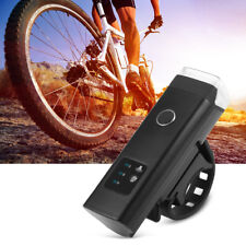 USB Rechargeable LED Bike Front Handlebar Flashlight Waterproof 4 Mode 350 Lumen