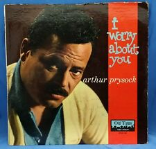 ARTHUR PRYSOCK AUTOGRAPHED I WORRY ABOUT YOU 1960 LP-102 Jazz Pop EXC LP