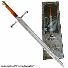 "Official Game Of Thrones Ice Sword Letter Opener Film Noble Gift 9"" Stark"
