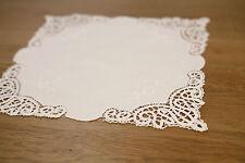 'Mannum Hill' Lace Doily Home Decor White 28cms BRAND NEW