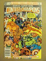 Marvel Super Hero Contest of Champions #1 #2 #3 Complete Marvel 1982 Series