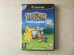 Pokemon Channel (Nintendo GameCube 2004) With Manual PAL