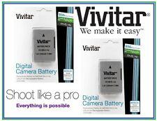 2-Pc Super Duty 2300mAh EN-EL14a Li-Ion Battery for Nikon